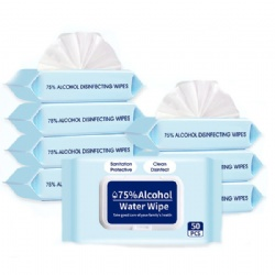 50 pack Antibacterial wipes